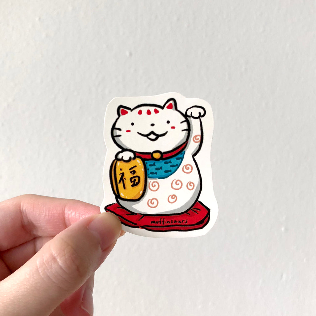 Fortune Cat Sticker