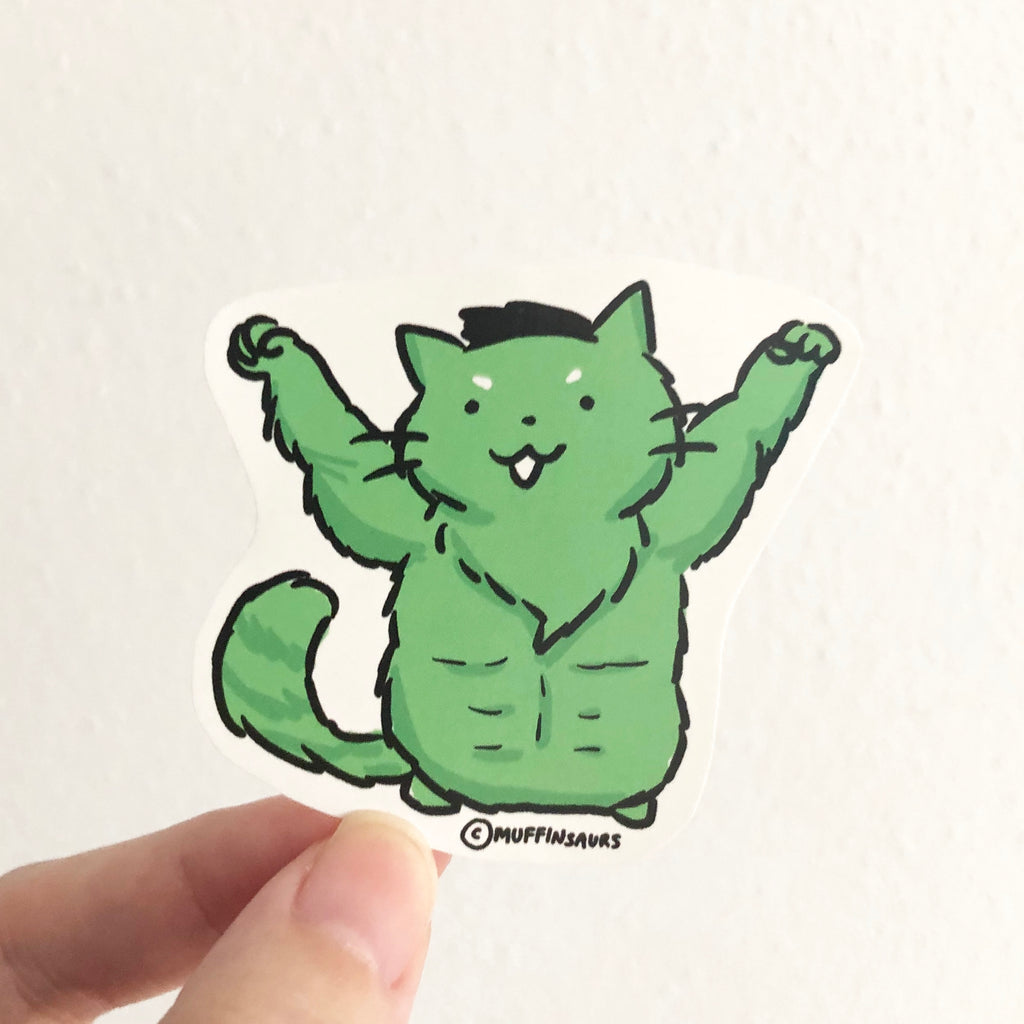 The Bulk Cat Sticker