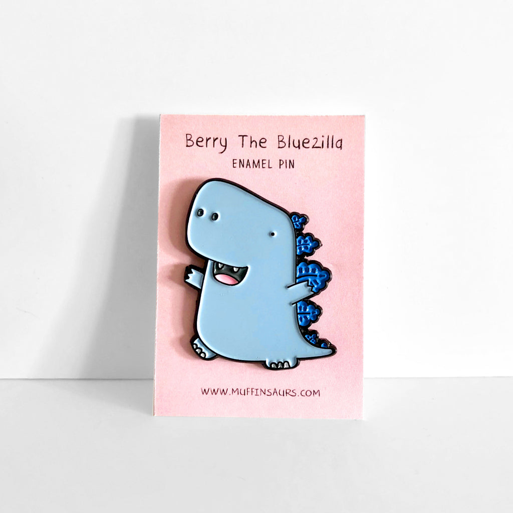 Berry the Bluezilla Pin