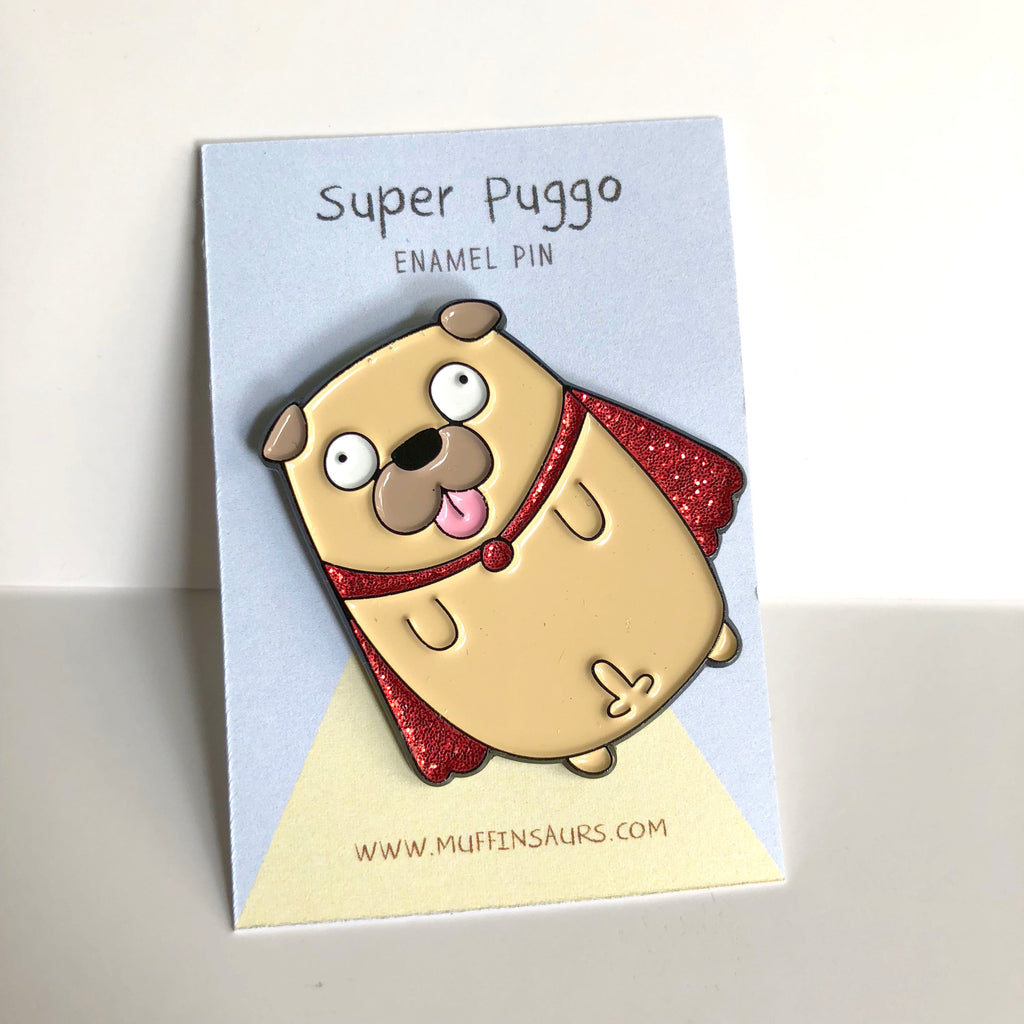 Super Puggo Pin