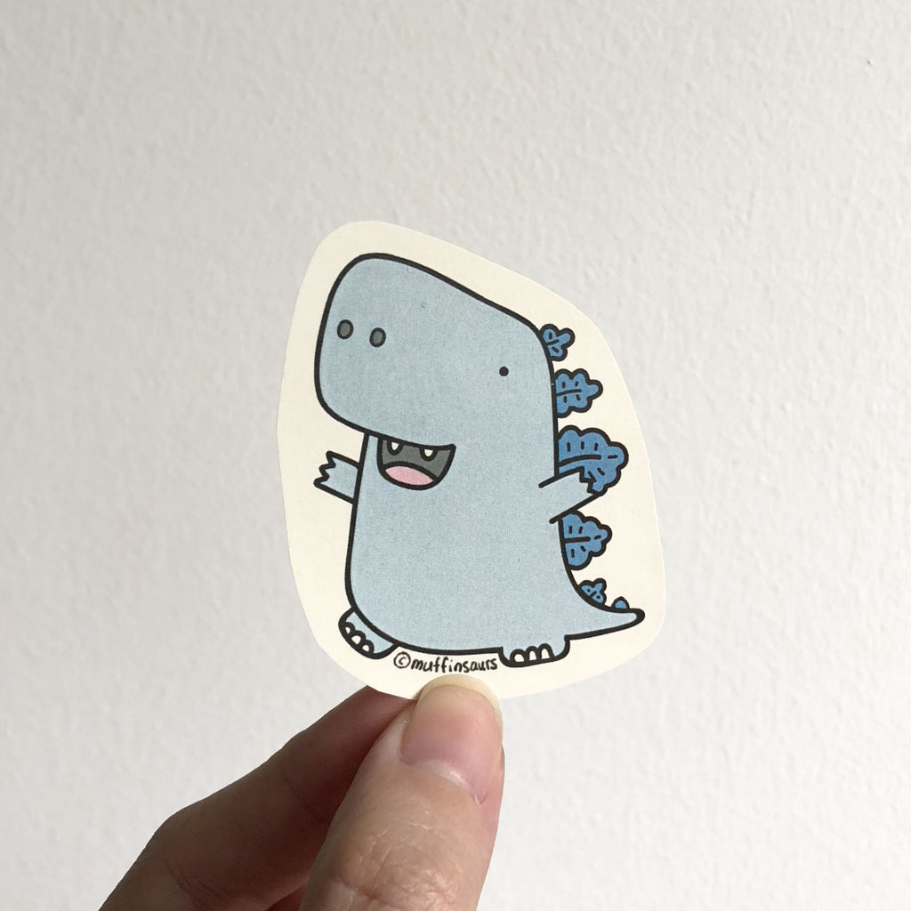 Berry the Bluezilla Sticker