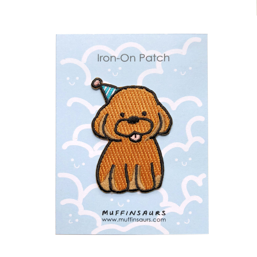 Poodle Party Iron-On Patch