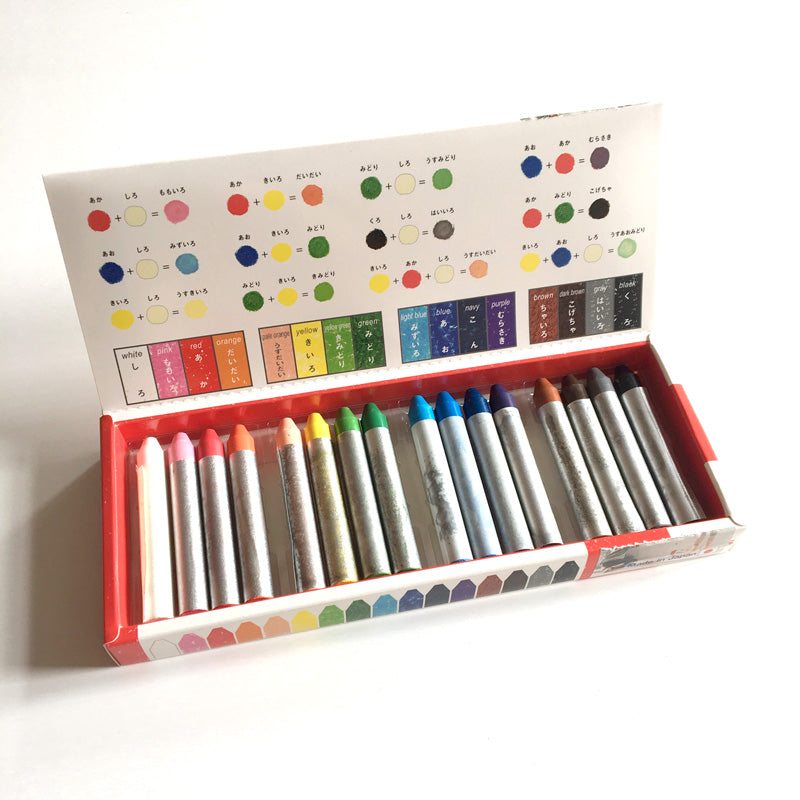 Kitpas Crayons Med 16 Colours