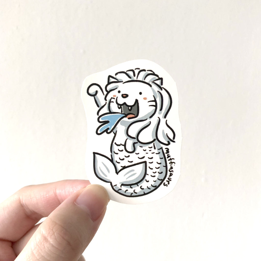Merlion Sticker