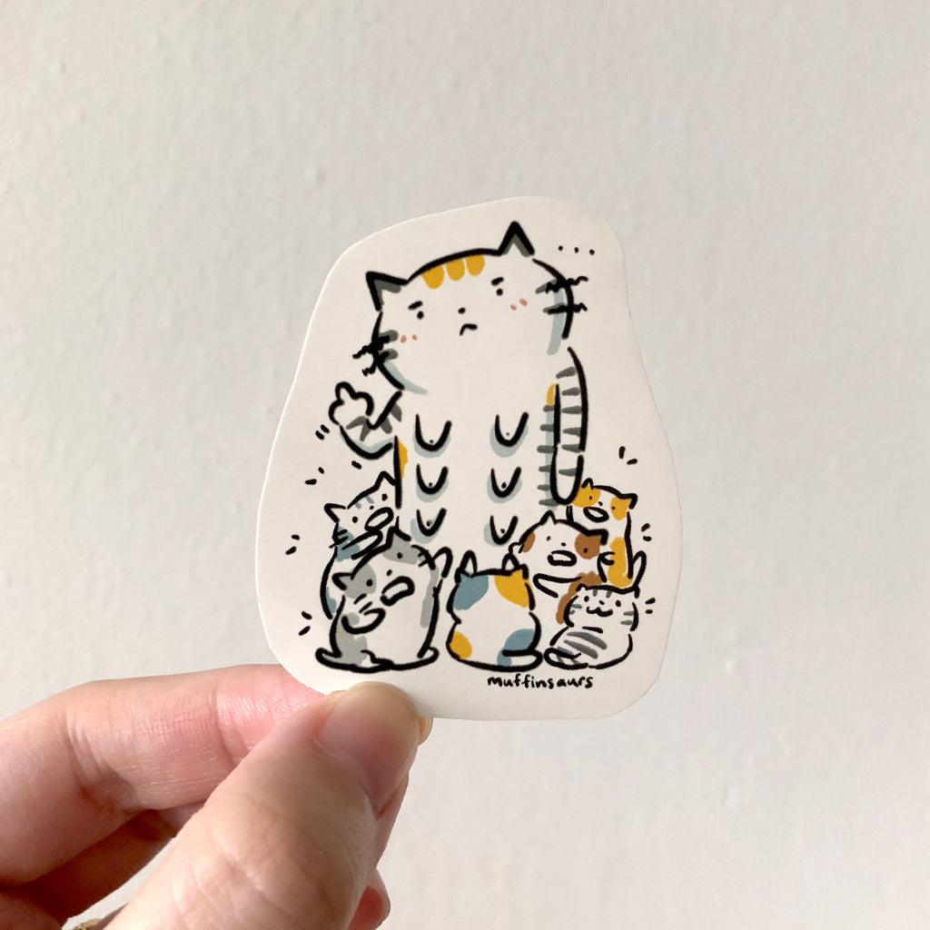 Mother Cat Sticker