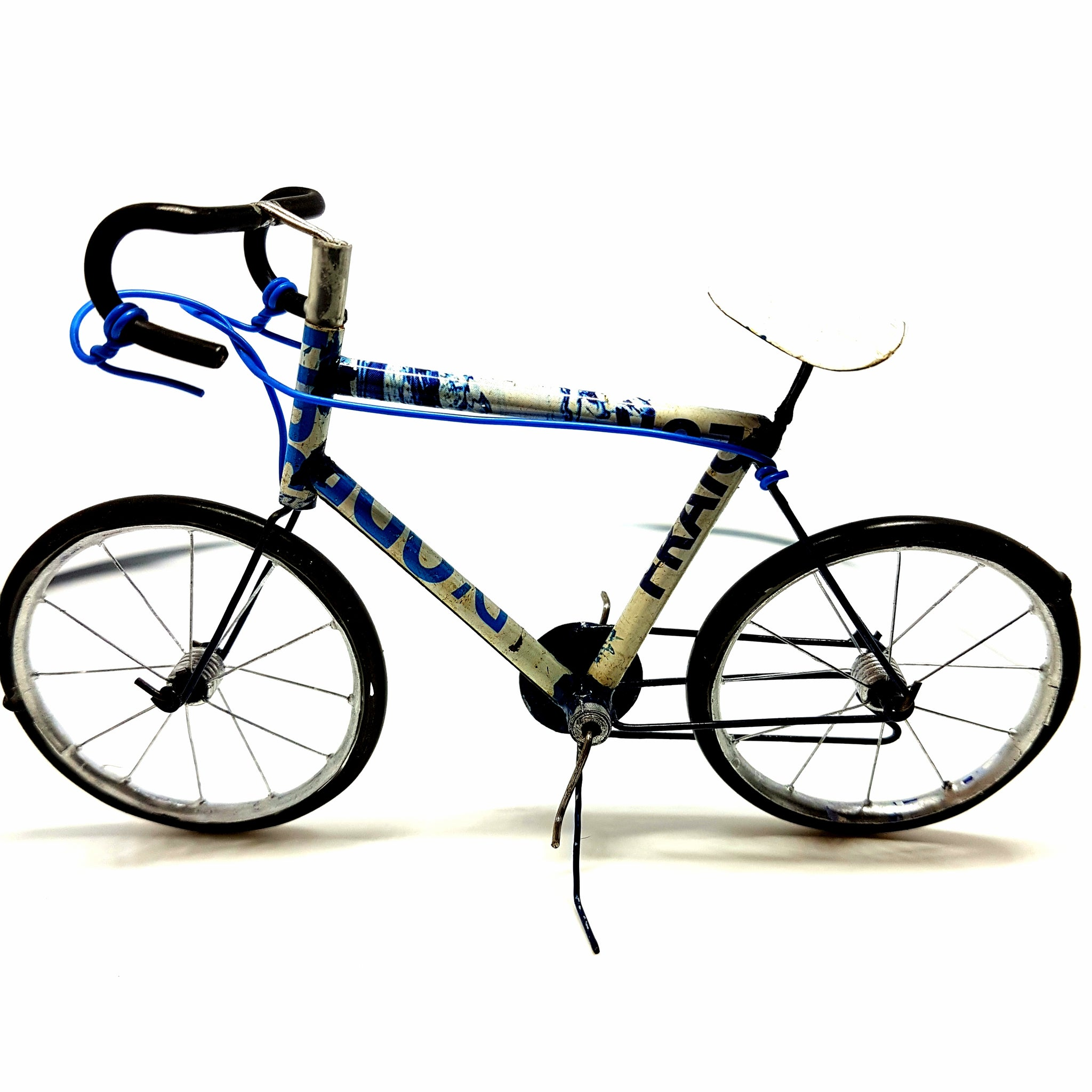 Recycled Can Bicycle