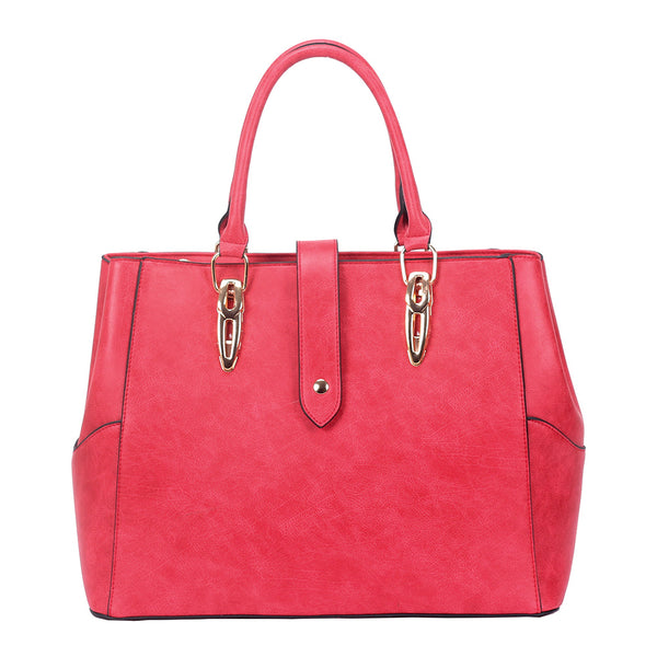 Shopper Handbag - RED