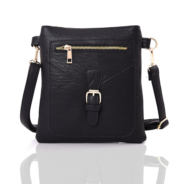 Crossbody Handbag - BLACK