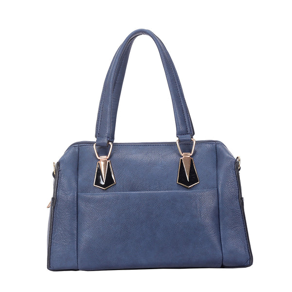 Handbag -  NAVY BLUE