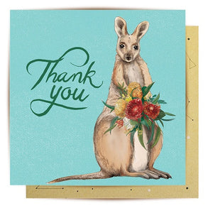 Thank You - Wallaby