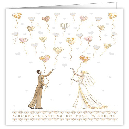 Large Card : Congratulations on Your Wedding