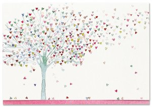 Note Card Set - Tree of Hearts