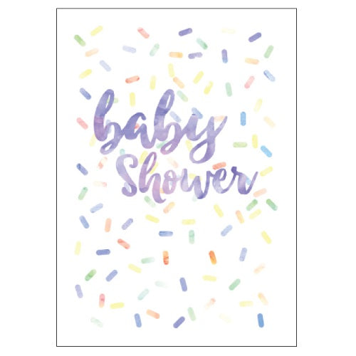 Large Card : Baby Shower