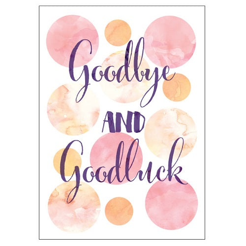 Large Card: Sunset Goodbye