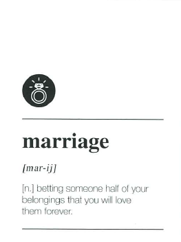Large Card : Marriage