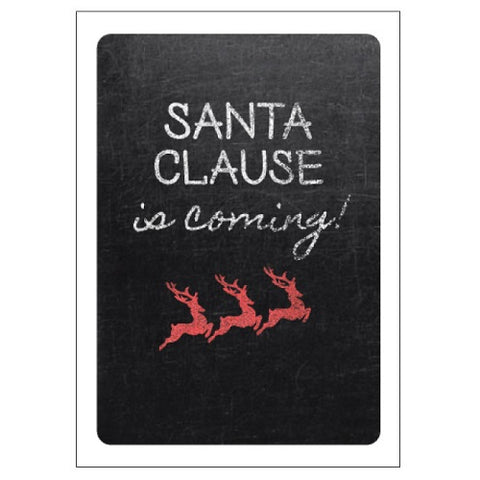 Santa Claus is coming!