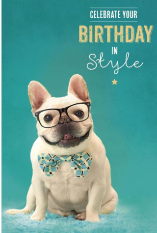 Large Card : Birthday in Style