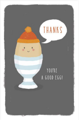 Large Card : You're A Good Egg!