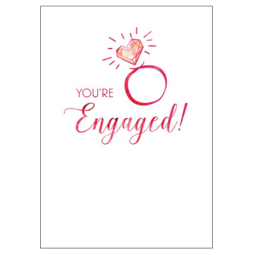 Large Card : You're Engaged!