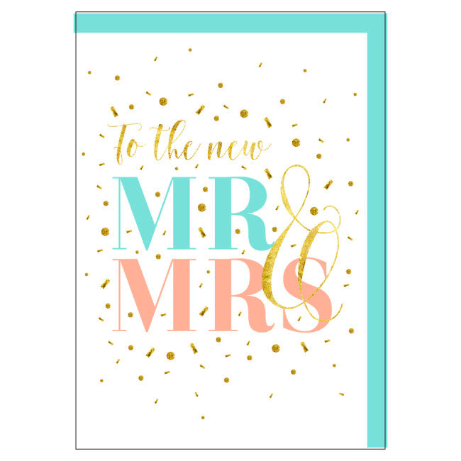 Large Card: Foiled Wedding