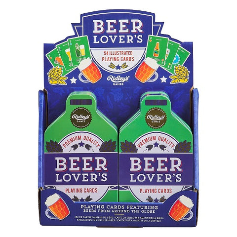 Beer Lover's Playing Cards