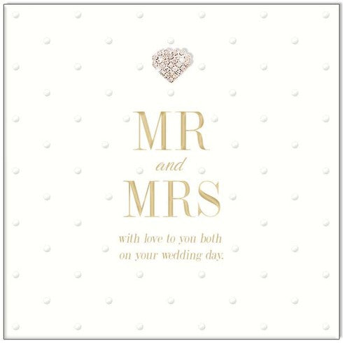 Large Card : Mr and Mrs