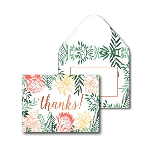Thank You Pack - Happy Floral