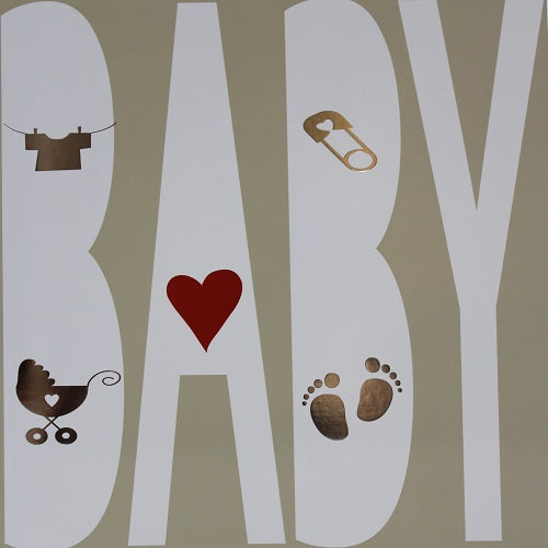 Large Card - Baby - Paperstreet