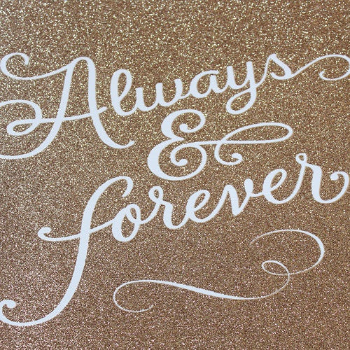 Large Card : Always & Forever