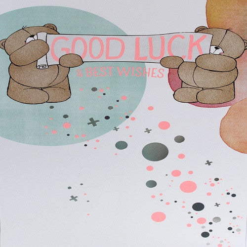 Large Card : Good Luck & Best Wishes - Forever Friends