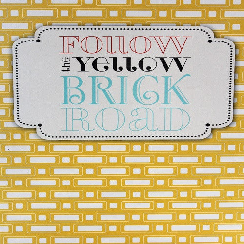 Large Card : Follow the Yellow Brick Road