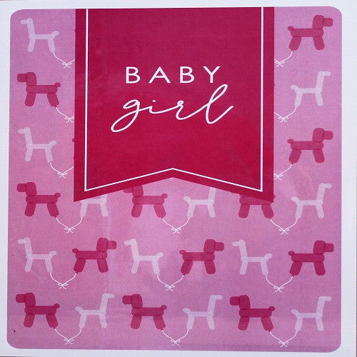 Large Card - Baby Girl