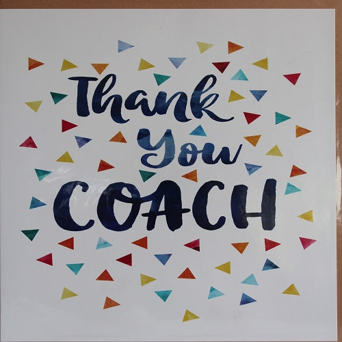 Large Card : Thank you Coach