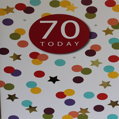 Large Card : 70 Today