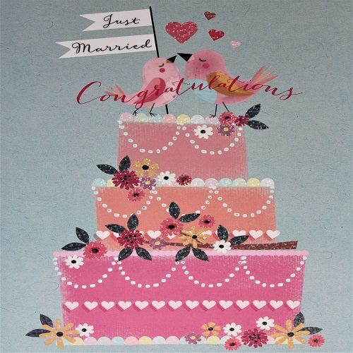 Large Card : Just Married