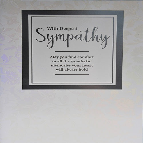 Large Card : With Deepest Sympathy