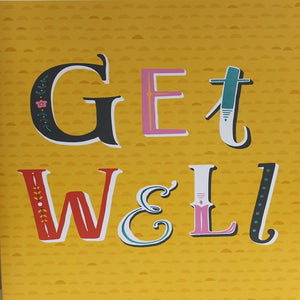 Large Card : Get Well