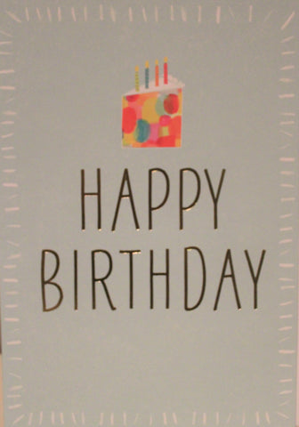 Large Card - Happy Birthday