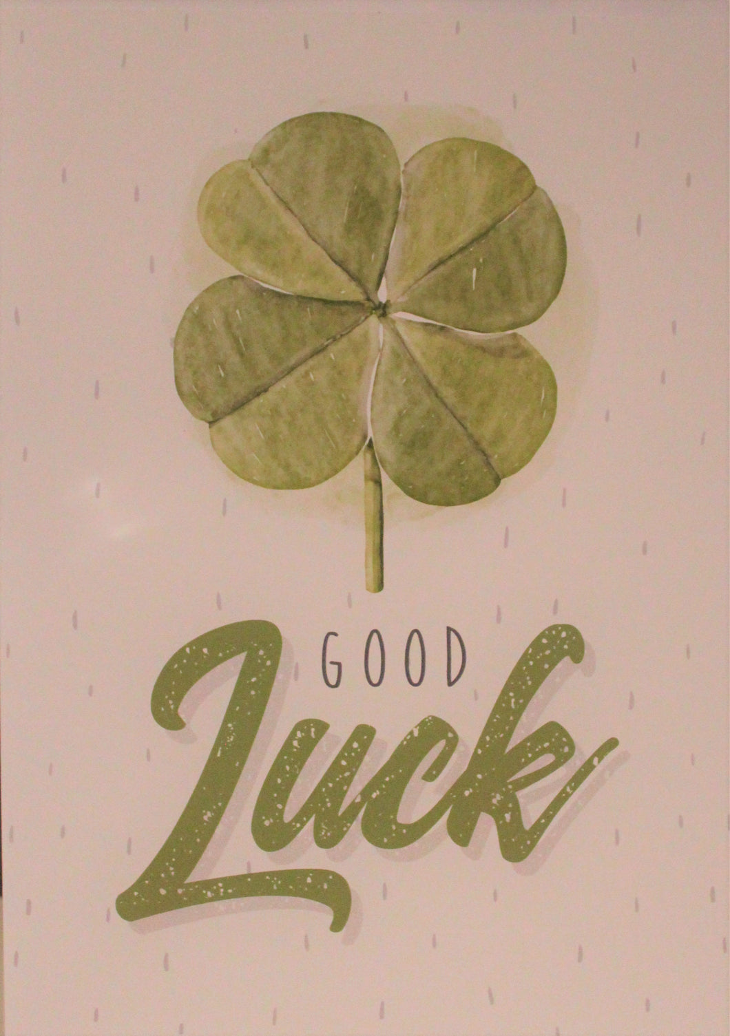 Large Card : Good Luck