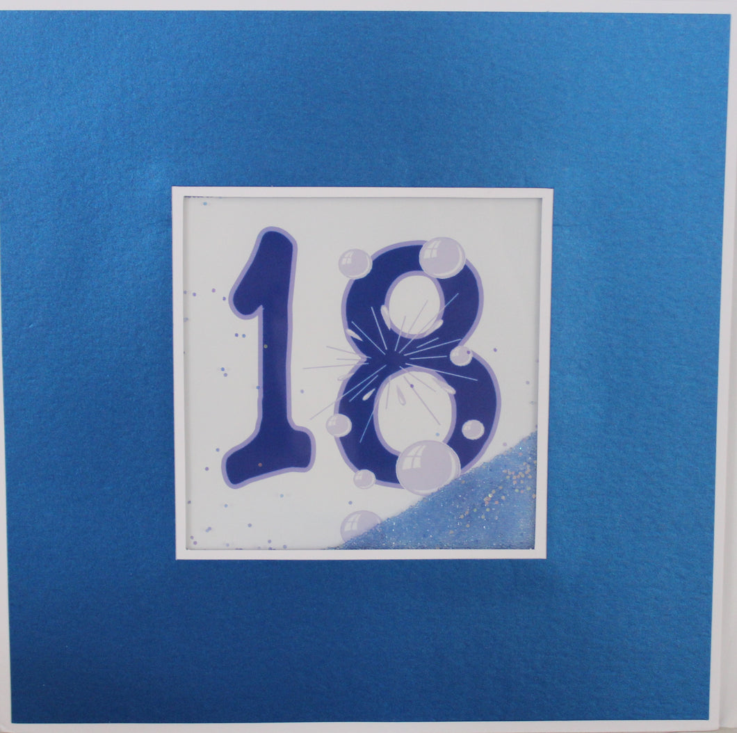 Large Card : 18 - Blue