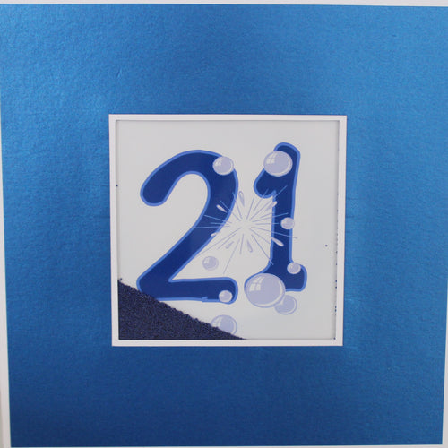 Large Card : 21 - Blue