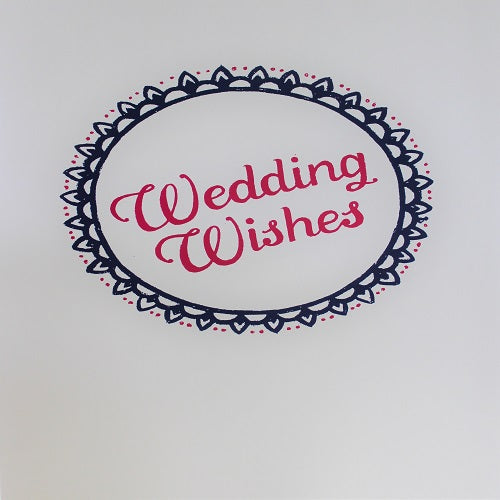 Large Card : Wedding Wishes