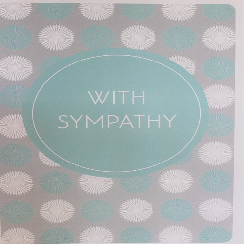 Large Card : With Sympathy