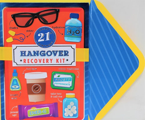 21 - Hangover Recovery Kit