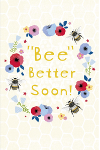 Large Card : Bee Better Soon!