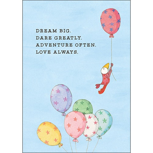Large Card: Dream Big, Dare Greatly