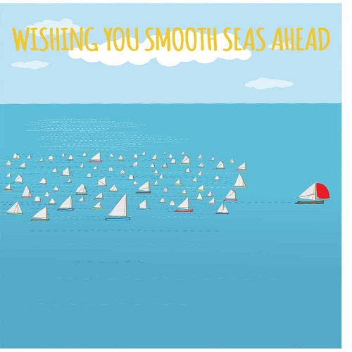 Large Card: Wishing you smooth seas ahead