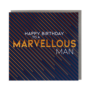 Happy Birthday to a Marvellous Man