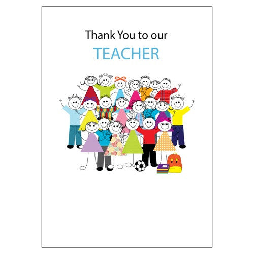 Large Card : Thank you to our teacher