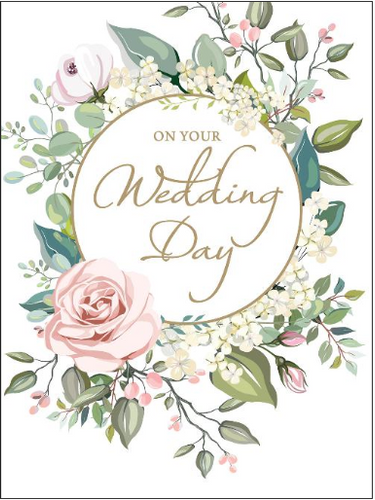 Large Card : On Your Wedding Day